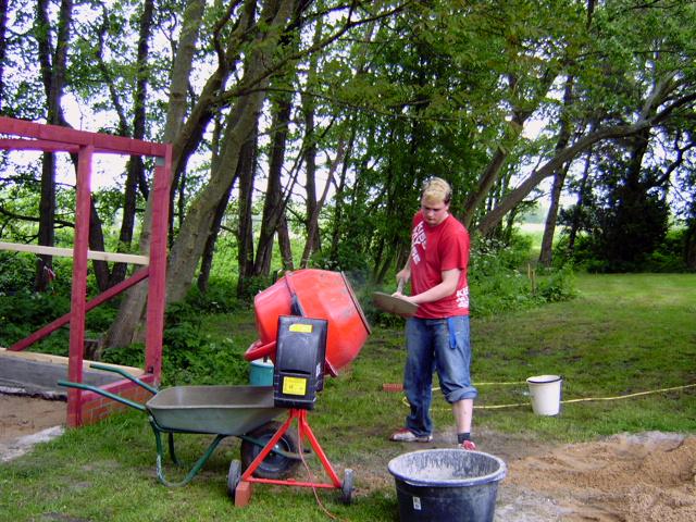 Arbeitstraining: Projekt Gartenhaus
